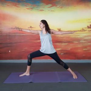 Yoga in Dubai DoinDubai Monica Kapila Warrior Pose