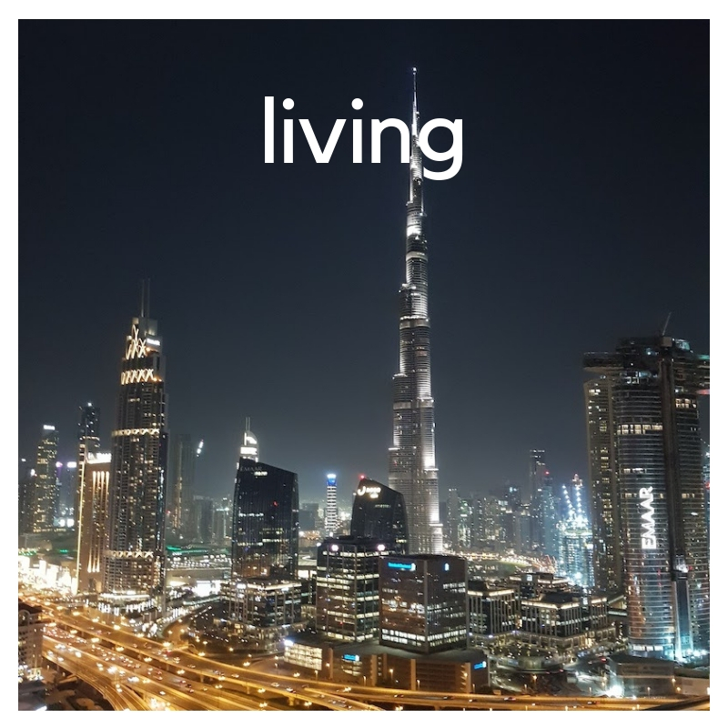 LIVING IN DUBAI - THE CATEGORY