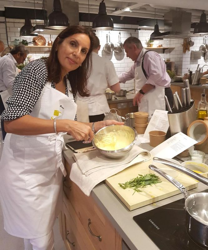 Cooking Lessons in London Sauce by the Langham Monica Kapila