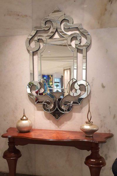Art Deco mirror Taj Palace hotel Delhi DoinDubai