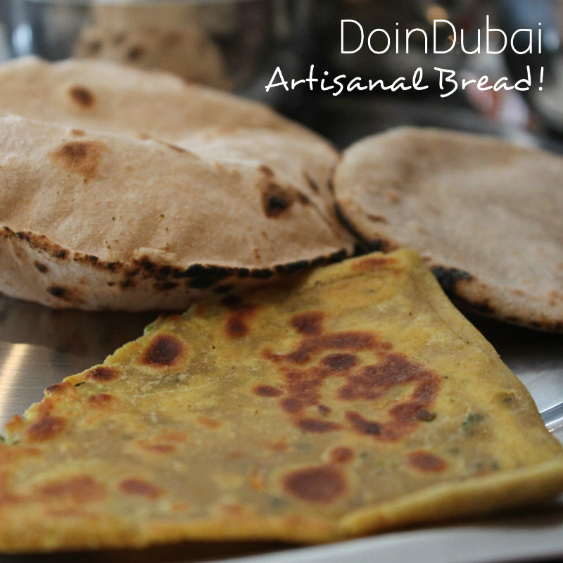 Rasoi Ghar Rotis Breads Paleo vegetarian options DoinDbubai