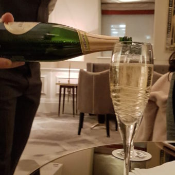 Image ofLangham London Champagne club lounge