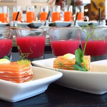 Olea St Regis Abu Dhabi Salmon MilleFeuille FOOD NEWS