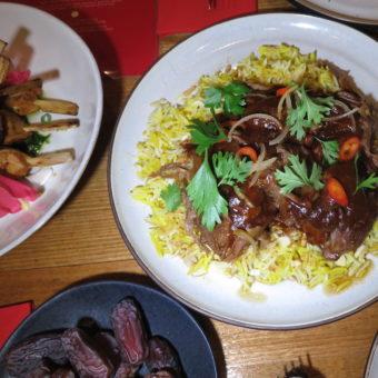 Image of Ramadan Nights Dish Catering Ifar Giveaway Rice and lamb