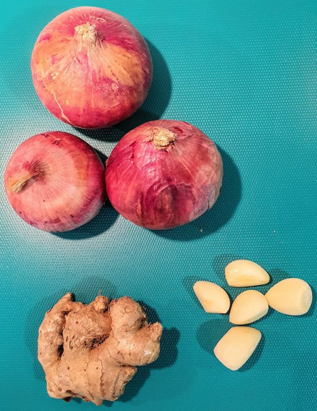 Indian Curry Base DoinDubai Onions Garlic Ginger