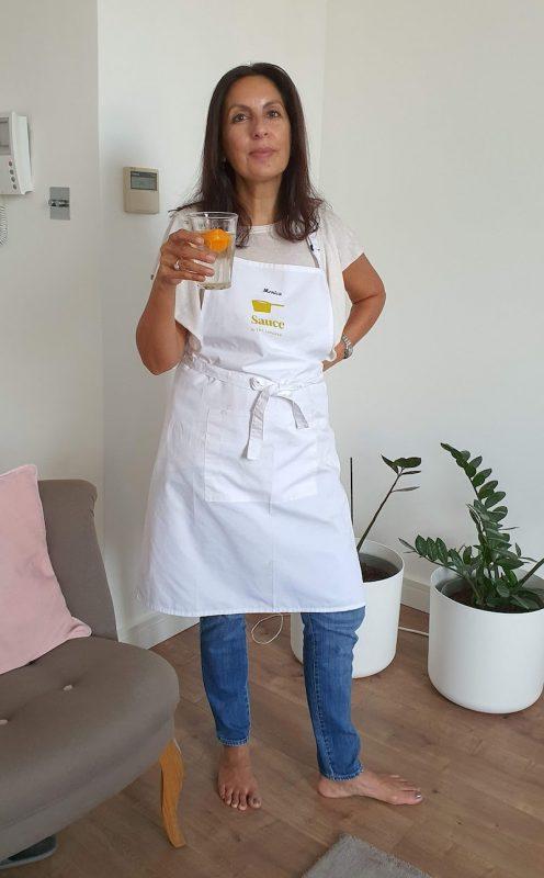 Travelling to London From Dubai DoinDubai Monica Kapila Langham apron