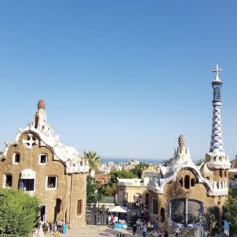 The One Barcelona DoinDubai Parl Guell Gaudi park