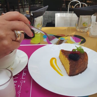 Image ofClean Eating Dubai DoinDubai Omnia Baharat Orange Polenta cake