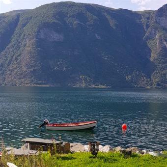 Image ofExploring Norway DoinDubai Fjord small boat