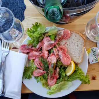 Image ofExploring Norway DoinDubai Prawn sandwich