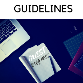 Guidelines for submitting a Guest Post to our award winning