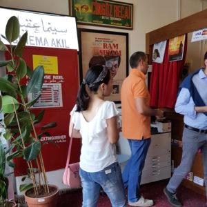 Al Serkal Avenue Dubai DoinDubai cinema goers