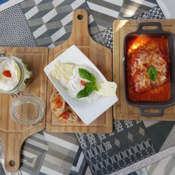 Image ofRetro Dubai Dining DoinDubai Bianca Mozzarella