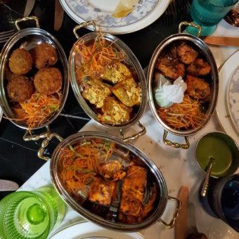 Image ofRetro Dubai Dining DoinDubai Little Miss India Food
