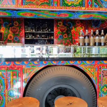 Image ofRetro Dubai Dining DoinDubai Little Miss India Truck